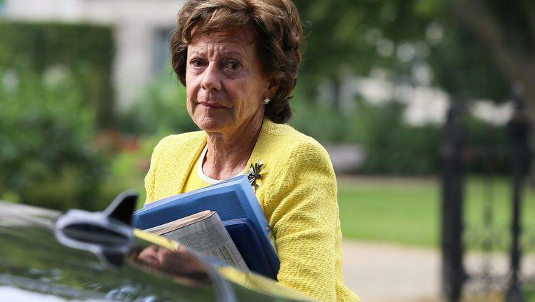 Neelie Kroes als Eurocommissaris Beeld anp