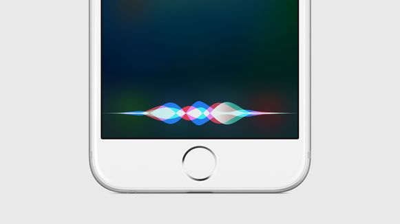 Siri op de iPhone.