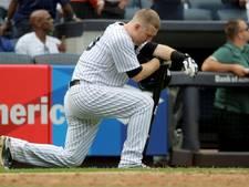 Meisje gewond in gezicht na honkslag Yankees-speler