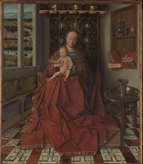 Brugge is Vlaamse primitief rijker: zeldzaam paneelschilderij uit de klas van Van Eyck