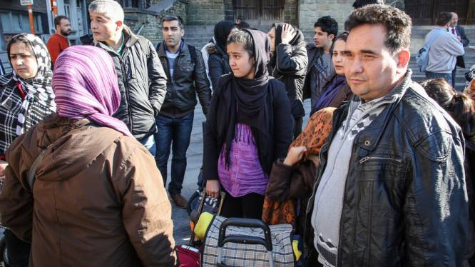 Afghanen moeten weg uit gebouw in Elsene