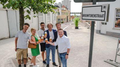 Nieuw in Bellegem: de verkeersvrije Brouwtorenstraat