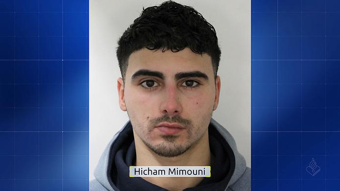De 25-jarige Hicham Mimouni wordt gezocht voor de liquidatiepoging op een 31-jarige man in Rotterdam