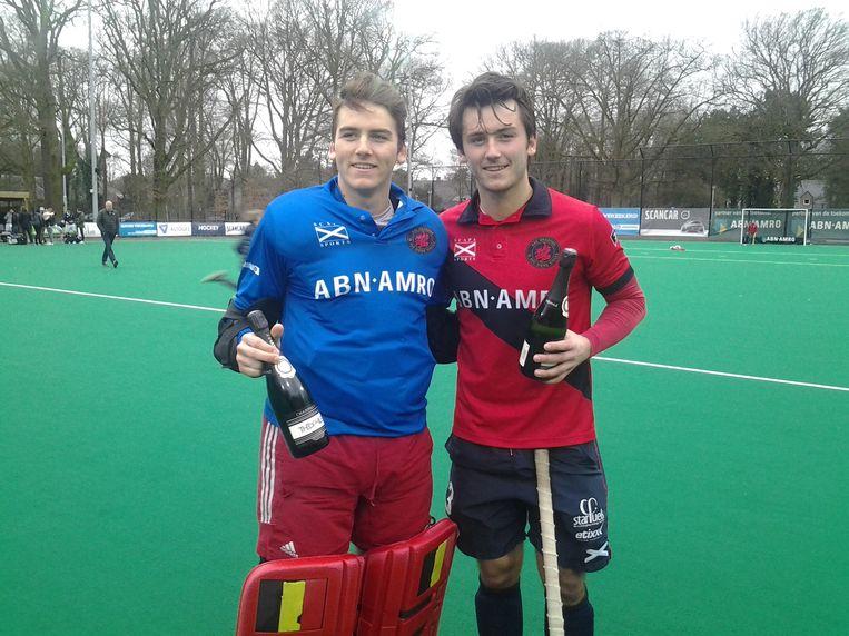 Loic Van Doren, hier met broer Arthur.