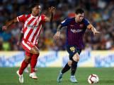 Rode kaart en puntverlies voor Barcelona in derby