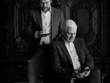 Zo zoon, zo vader Klaas en Rik Dijkhoff