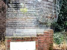 'Zet het oorlogsmonument in Millingen niet achter een heg'