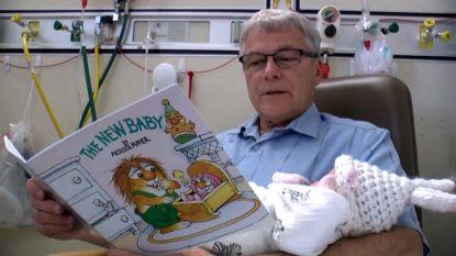 Vrijwilligers gezocht om pasgeboren baby's te knuffelen