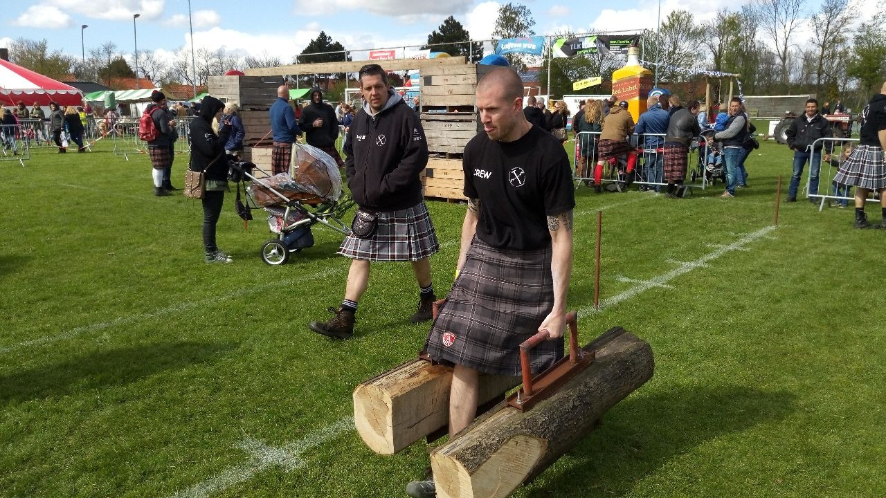 Highland Games Driewegen