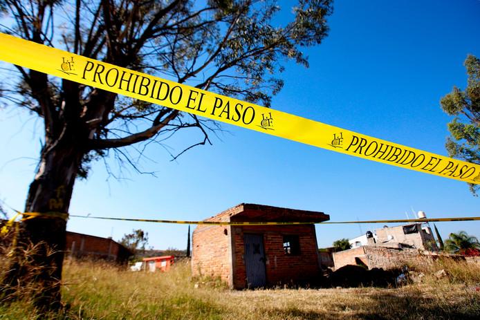 La fosse commune clandestine se trouve dans la municipalité de Tlajomulco, à la périphérie de Guadalajara