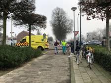 Fietser raakt gewond aan hoofd na botsing met andere fietser in Boxmeer