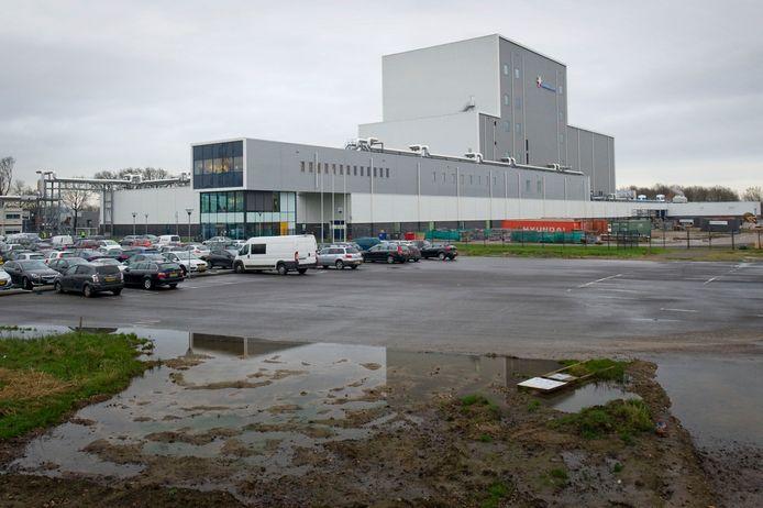 Nieuwe fabriek Friesland Campina in Borculo.