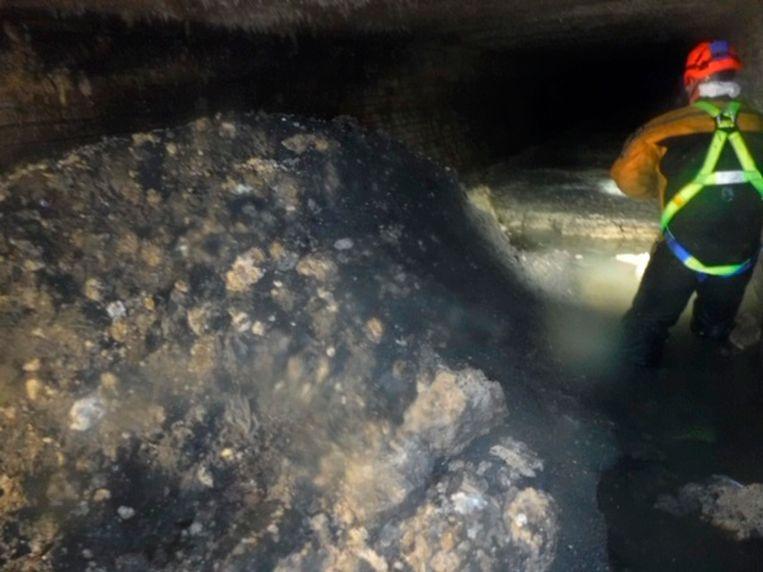 Volgens het bevoegde waterbedrijf South West Water gaat het om de grootste vetberg die tot dusver in het graafschap is gevonden.