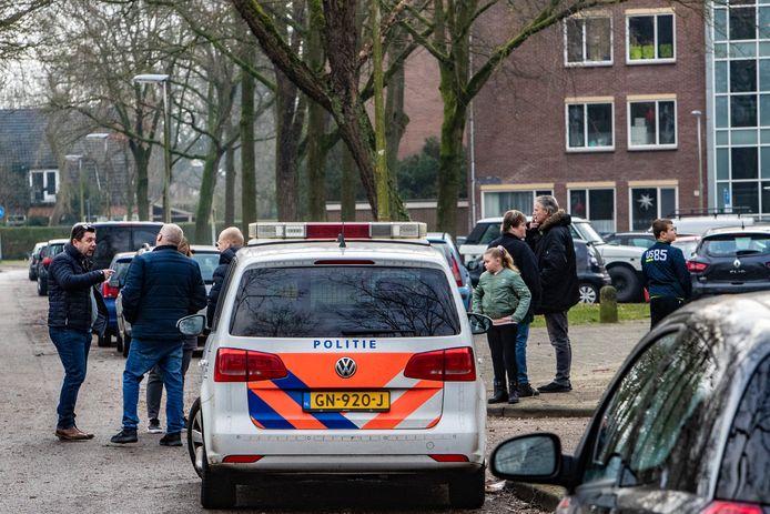 De politie is volop bezig met het onderzoek naar de Havezatebom