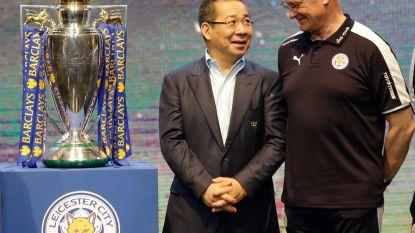 """Ook coach die Leicester naar voetbalhemel loodste zwaar onder de indruk na dood voorzitter: """"Er stond een eeuwige glimlach op zijn gezicht"""""""