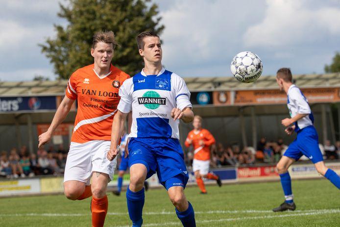 DVV uit Duiven plaatste zich voor de volgende bekerronde. Foto Jan van den Brink