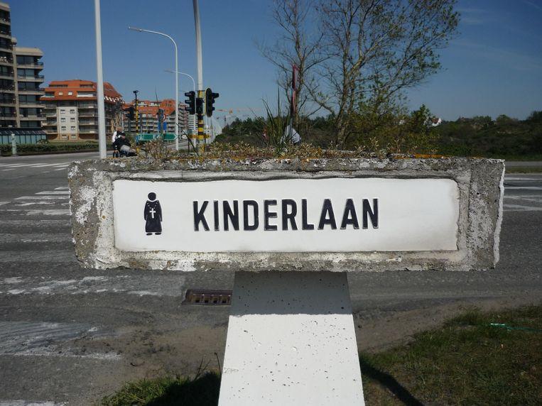 Het ongeval vond plaats in de Kinderlaan.