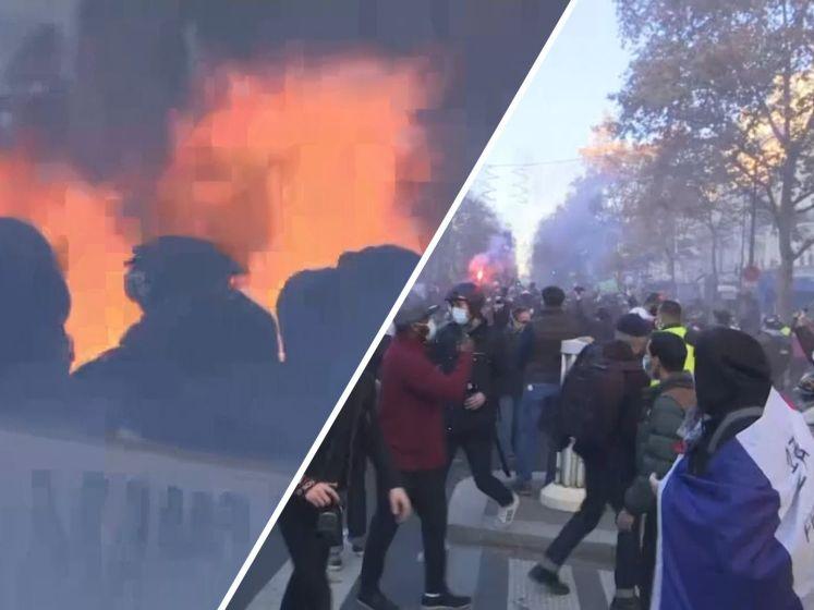 Demonstraties in Parijs tegen omstreden veiligheidswet