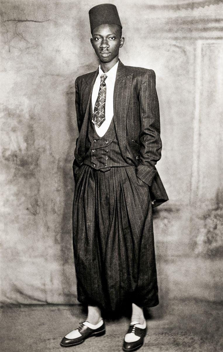 Dakar, ca. 1950-1960. Beeld Mama Casset, Studio African Photo/ courtesy Revue Noire