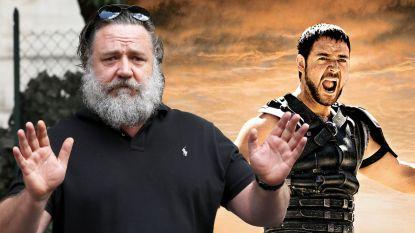 Is dit Russell Crowe? 'Gladiator'-held is onherkenbaar veranderd