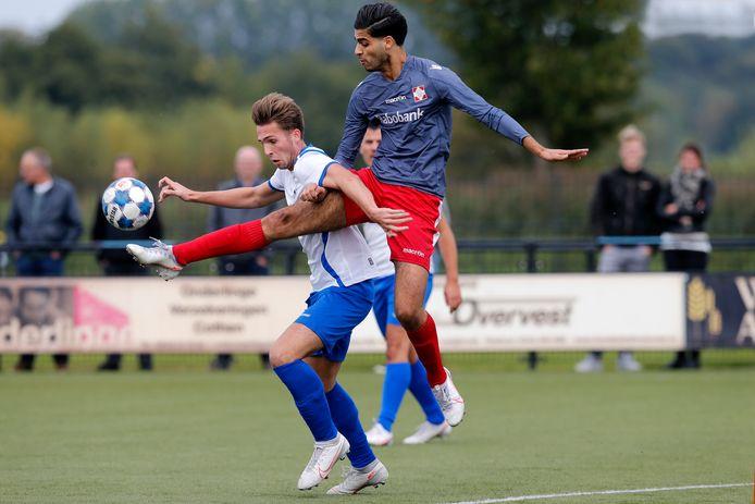 Eind september voetbalden de eersteklassers SVL en FC De Bilt nog tegen elkaar. De vraag is of en wanneer de voetbalcompetitie wordt hervat.