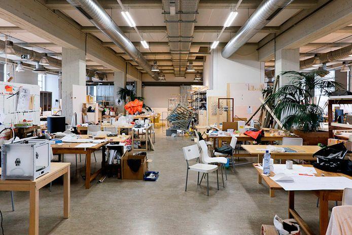 Design Academy Eindhoven, interieur.