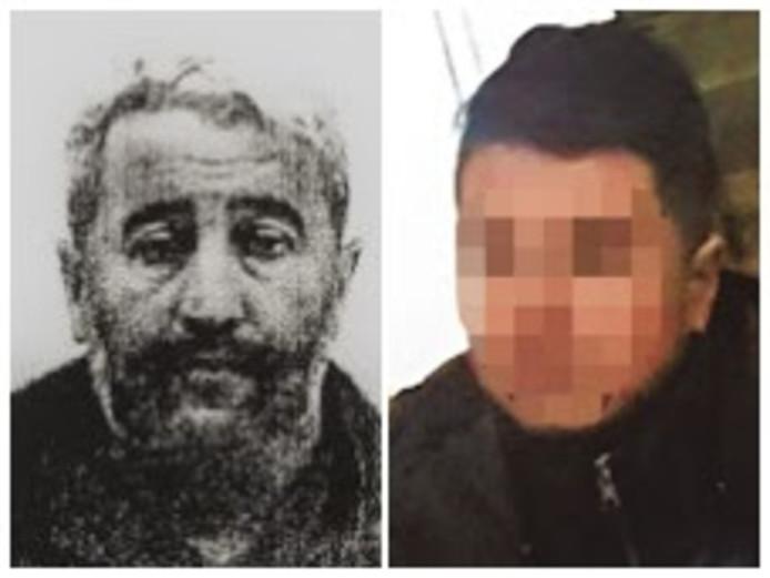 Drugshandelaar Abdelkader B. (l.) is nooit teruggevonden. Younes El B. kon na zes weken ontvoering ontsnappen.