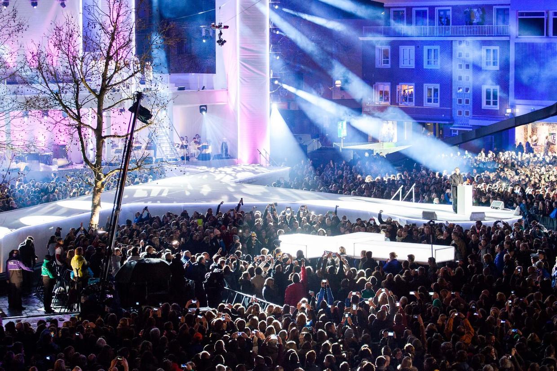 The Passion werd in 2015 in Enschede opgevoerd.