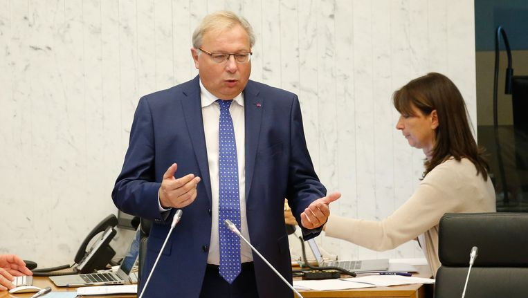 Parlementsvoorzitter André Antoine (cdH).
