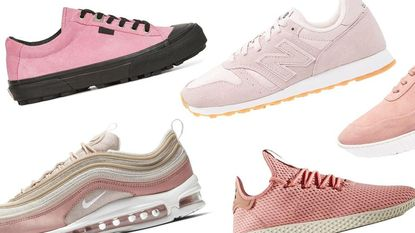 Shop 5x mierzoete roze sneakers om je garderobe mee op te fleuren