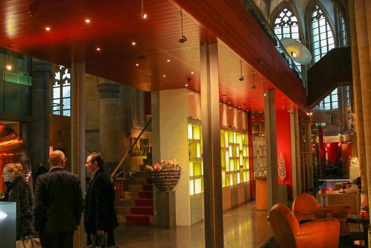 Een voorbeeld van een herbestemming van een kerk in Maastricht, waar een hotel en wijnbar zijn ondergebracht.