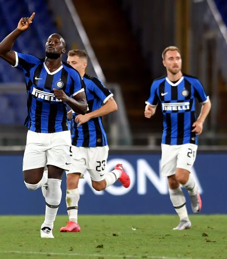 Romelu Lukaku permet à l'Inter d'arracher un partage à l'AS Rome