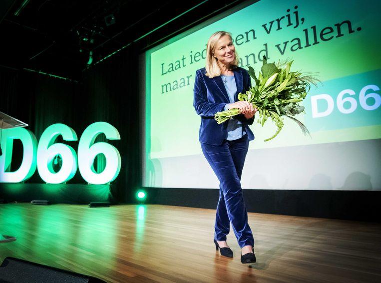 Begin deze maand werd Sigrid Kaag gepresenteerd als lijsttrekker van D66.  Beeld ANP/ Remko de Waal
