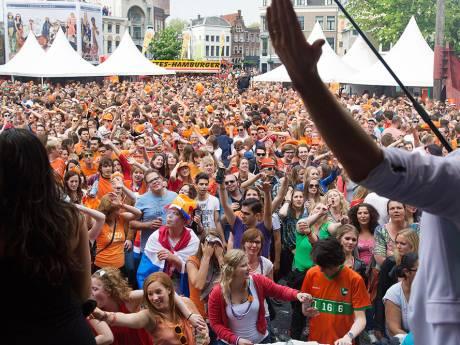 Utrecht doet geen concessies: Koningsdagfeesten op pleinen van de baan