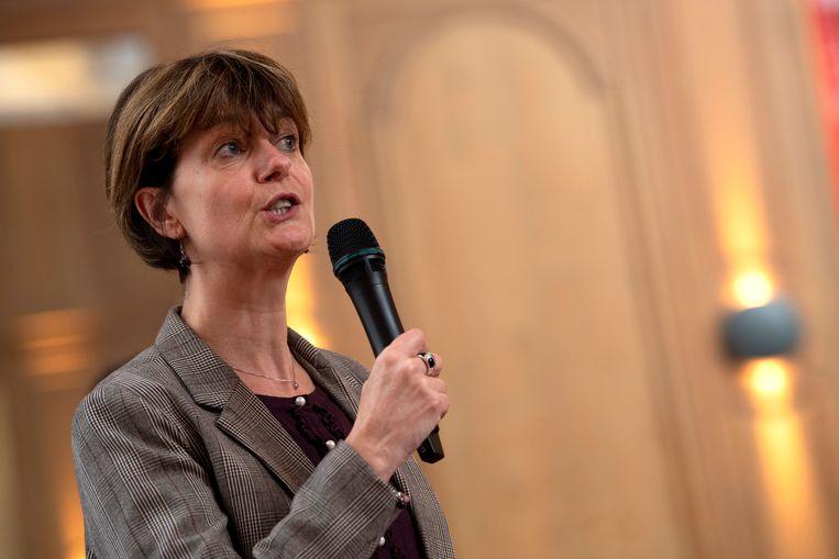 Waals minister van Toerisme Valérie De Bue (MR).