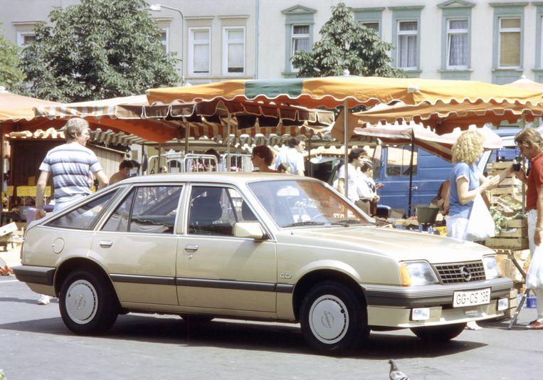 De brave Opel Ascona doet Spanjaarden en Portugezen aan hele andere dingen denken.
