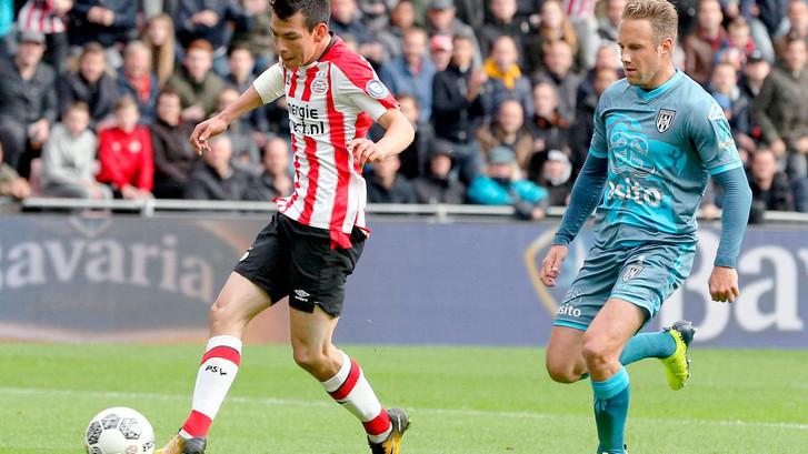PSV wint ook ruim van Heracles en kan achterover leunen voor Klassieker