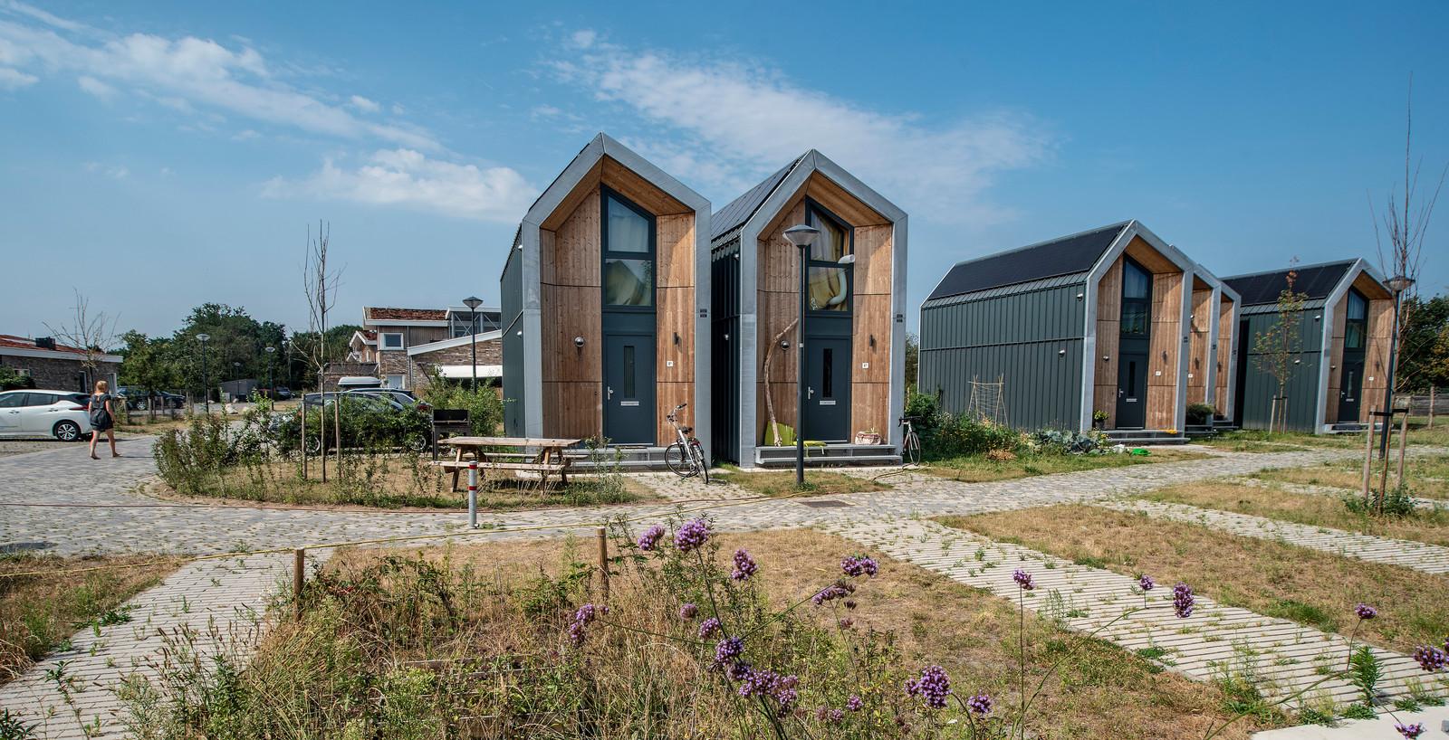 Zo komen de eerste tiny houses in de gemeente Hellendoorn er misschien wel uit te zien, maar niets is nog zeker.