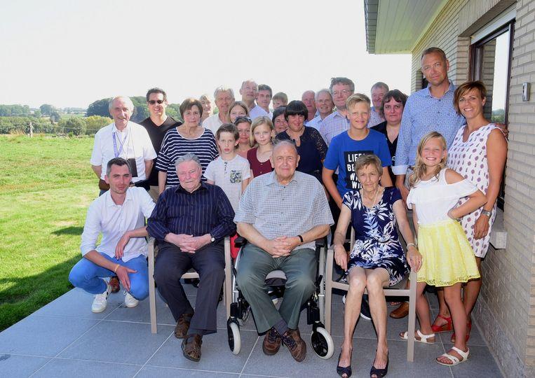 De familie Van Hamme vierde feest