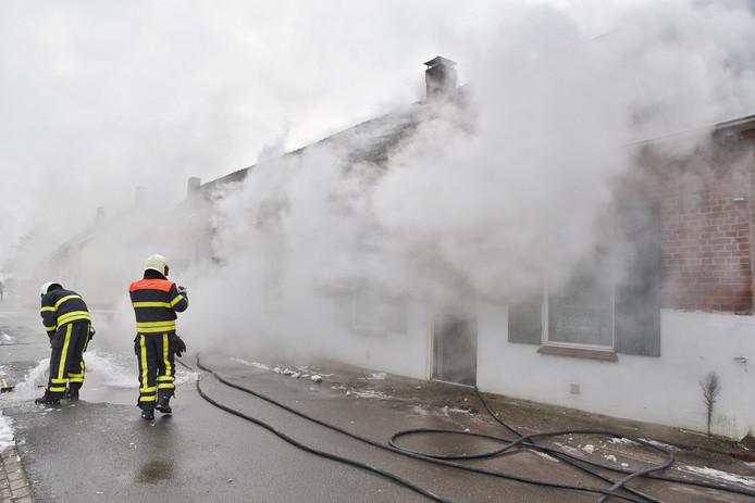Brand in leegstand pand Berkel-Enschot.
