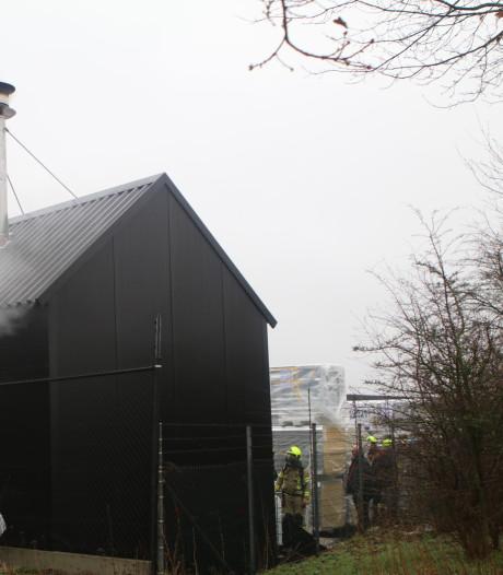 Oven productiebedrijf vliegt in brand tijdens testen op brandveiligheid