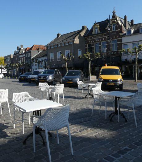 Geen auto's op Markt in Boxtel: ruimte voor grotere terrassen