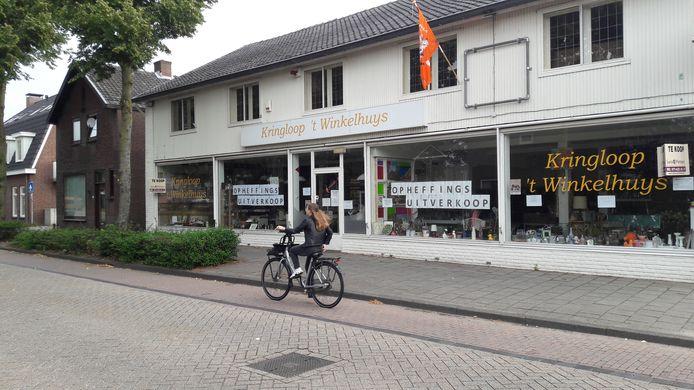 't Winkelhuys in Schijndel is ook de dupe van het faillissement van Boeijend Huys.