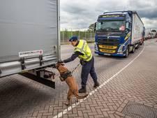 Inklimmers op trucks proberen het nu al op bedrijventerreinen