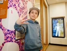 Saméo (11) had kanker en zamelt nu geld in voor  medicijnen: '1 op de 4 kinderen overleeft het helaas niet'