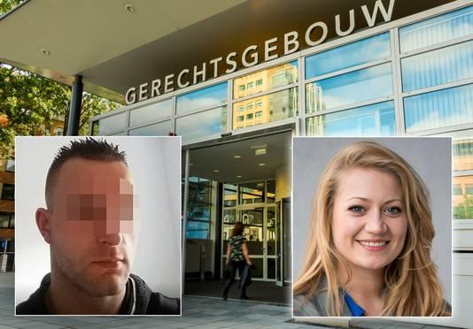 Verdachte Michael P. (links) en Anne Faber