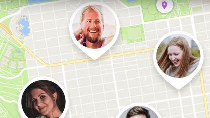 """Ook gezinnen ontdekken locatie trackers:  """"App vertelt wanneer avondeten op tafel moet staan"""""""