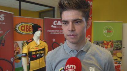 """Van Aert maakt op 27 december comeback in het veld in Loenhout: """"Het zou heel dom zijn om over resultaten te spreken"""""""