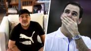 """Fiere Roger Federer emotioneel na mooie woorden Maradona: """"Voor mij zal je altijd de grootste zijn"""""""