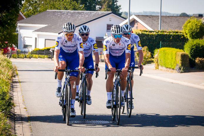 Deceuninck-Quick Step lance sa préparation pour la reprise, prévue le 1er août.